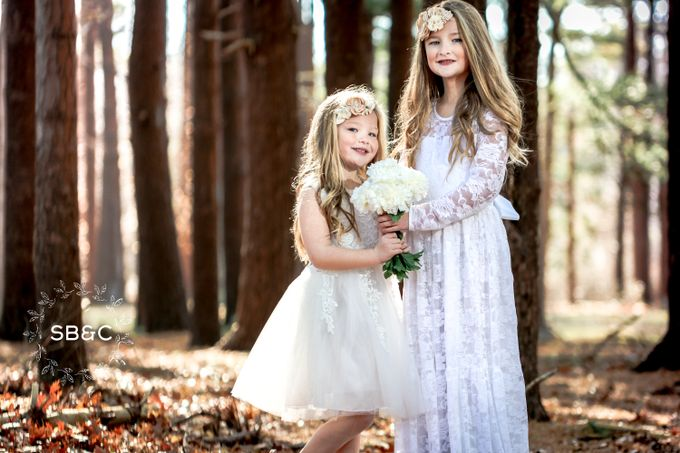 Flower Girl Dress by Sixpence Boutique & Co - 005
