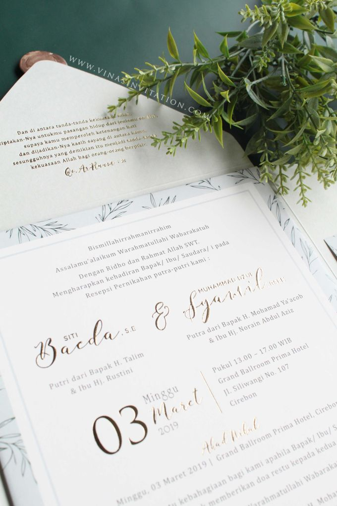 Baeda & Syamil by Vinas Invitation - 006