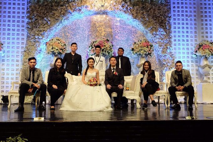 Upper Room - Arief & Vedina Wedding by Impressions Wedding Organizer - 004