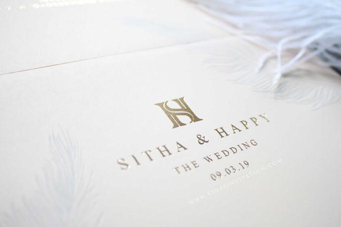Sitha & Happy by Vinas Invitation - 002