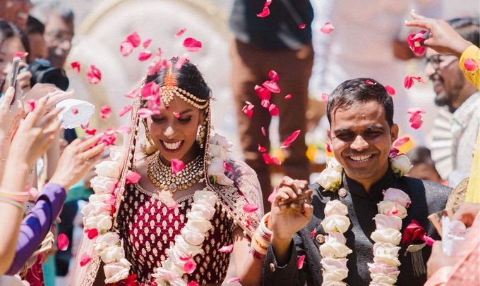 Romantic Indian Wedding at Jeeva Sabbah Villa by Silverdust Decoration - 008