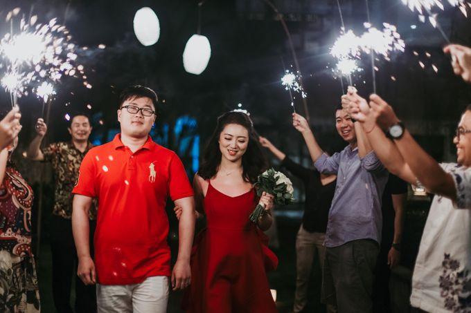 Wei Long Yun & Zhu Yan Lin Wedding by Le Grande Bali Uluwatu - 009