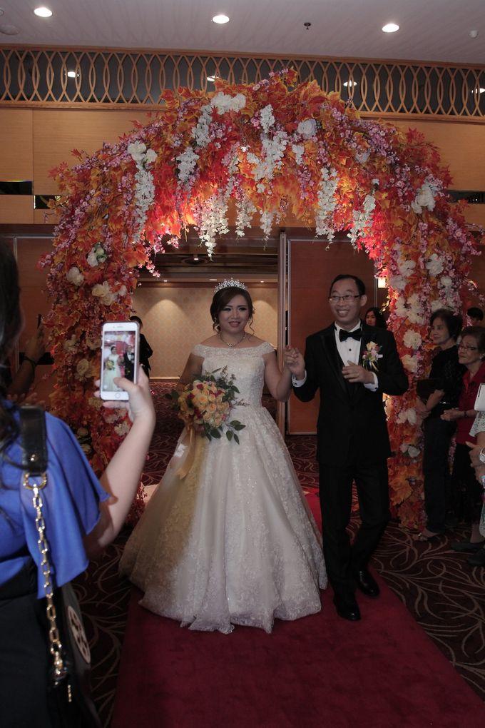 Weddding day of Jujianto & Yuvi at Angke Restaurant Kelapa Gading by Angke Restaurant & Ballroom Jakarta - 001