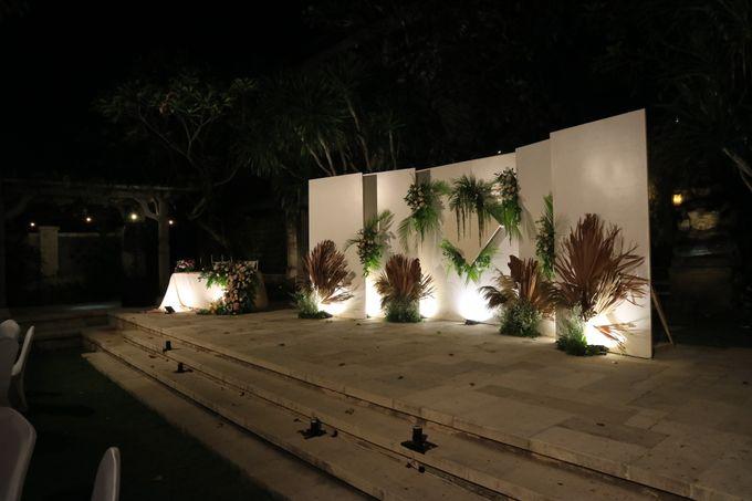 Dinner reception of Meta & Krisna by Sudamala Resorts - 011