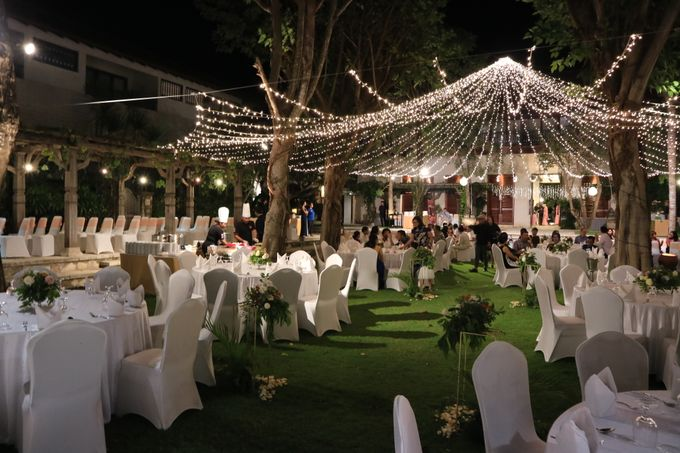 Dinner reception of Meta & Krisna by Sudamala Resorts - 012