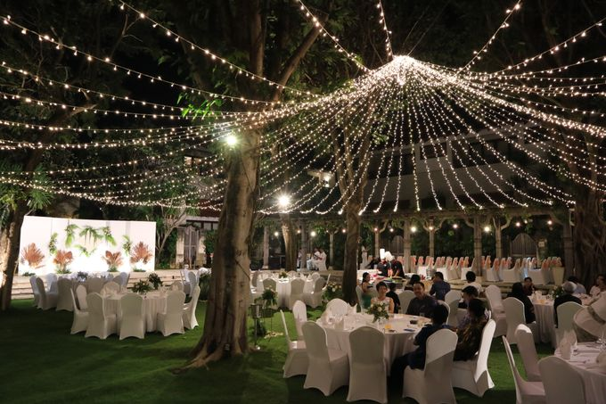 Dinner reception of Meta & Krisna by Sudamala Resorts - 013