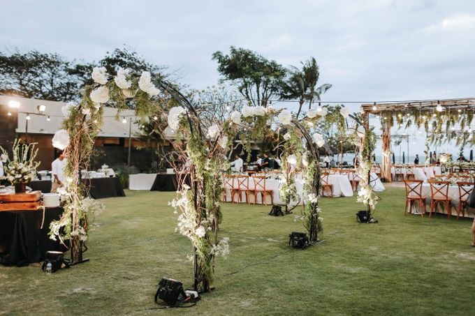 Andrew & Agnes Bali Wedding - Reception by Levin Pictures - 005