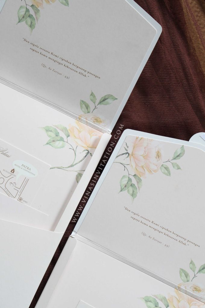 Hani & Buna by Vinas Invitation - 004