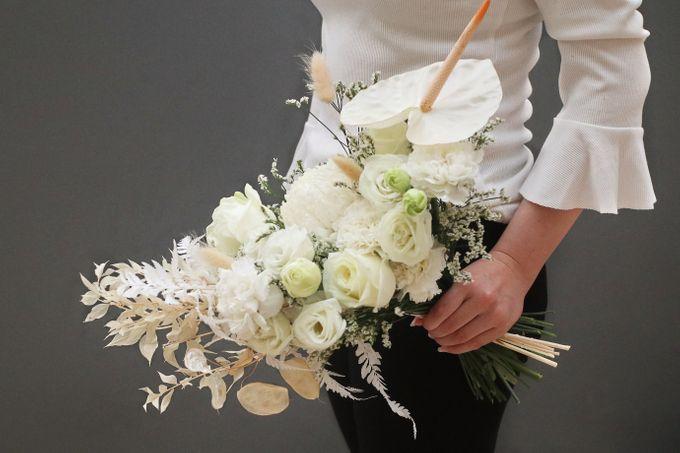 Paulus & Ria Wedding at Ascott Jakarta by Jesblossom House Of Flower - 005