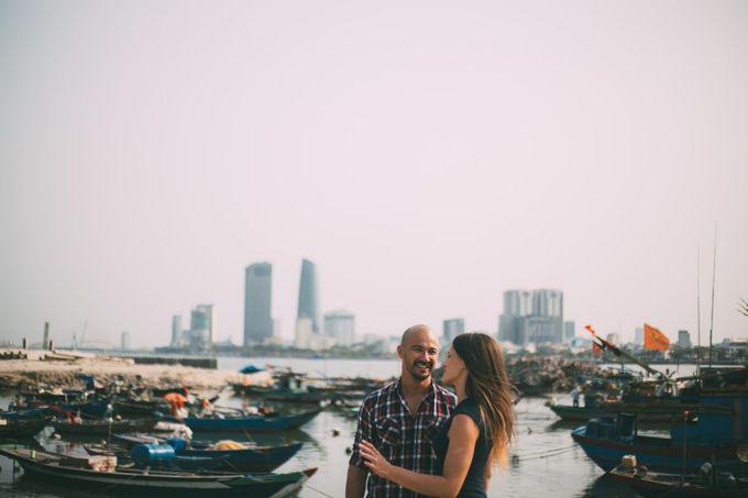 Engagement CHris and Anna in Da nang-  da nang engegament photography by Anh Phan Photographer   vietnam weddng photographer - 029