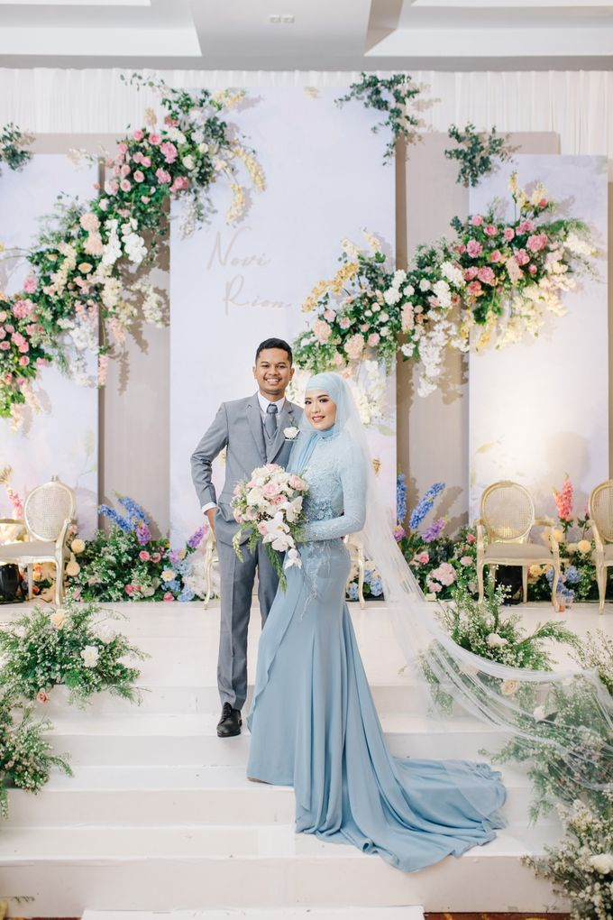 The Wedding of Novi and Rion by Kate Bridal and Couture - 003