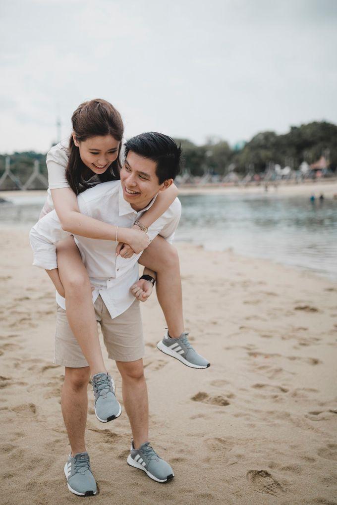 Romantic Beach - Pre-Wedding Shoot by Arieltistry - 005