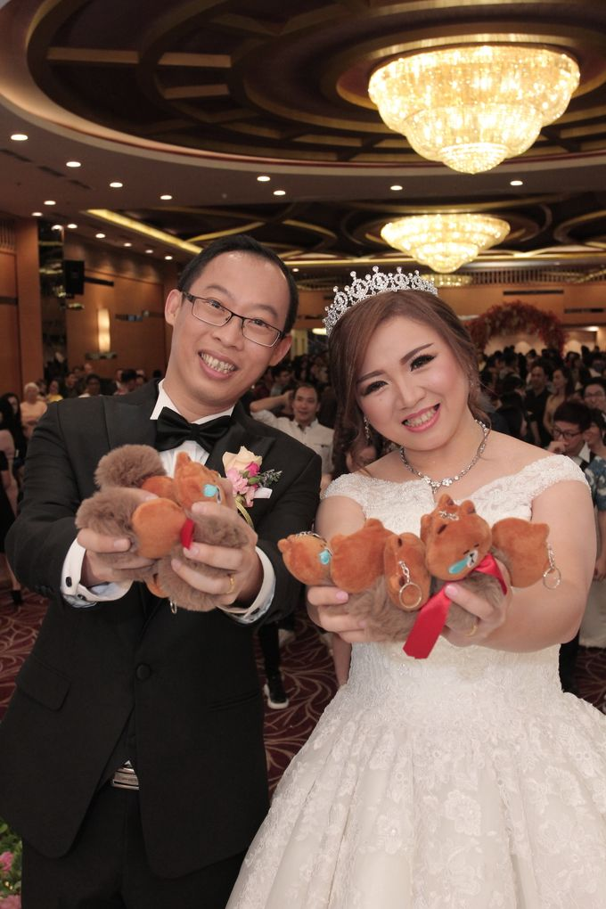 Weddding day of Jujianto & Yuvi at Angke Restaurant Kelapa Gading by Angke Restaurant & Ballroom Jakarta - 002
