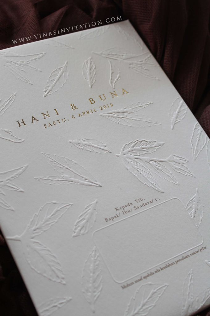 Hani & Buna by Vinas Invitation - 001