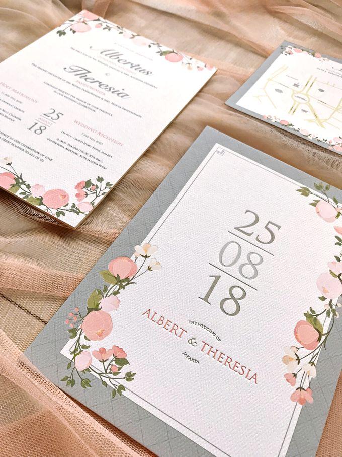 Albert & Theresia by Petite Chérie Invitation - 003