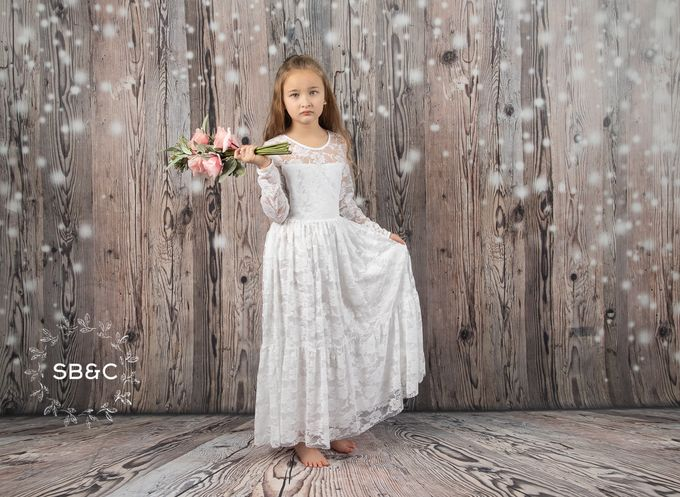 Flower Girl Dress by Sixpence Boutique & Co - 039