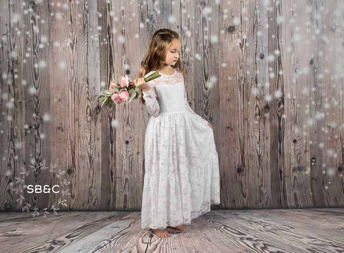 The Bella in white by Sixpence Boutique & Co - 013