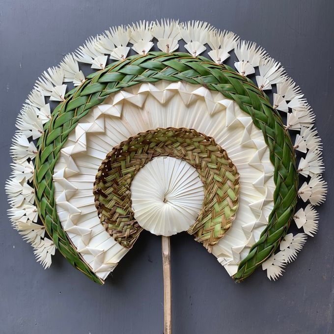 Traditional Balinese Fan Ornaments by Make A Scene! Bali - 004