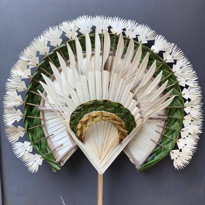 Traditional Balinese Fan Ornaments by Make A Scene! Bali - 005
