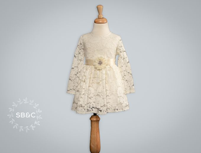 Flower Girl Dress by Sixpence Boutique & Co - 043