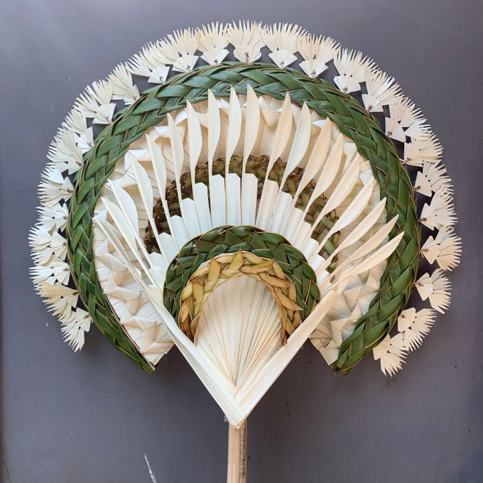 Traditional Balinese Fan Ornaments by Make A Scene! Bali - 001