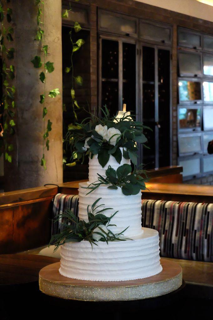 The Wedding of Yonas & Priska  by KAIA Cakes & Co. - 003