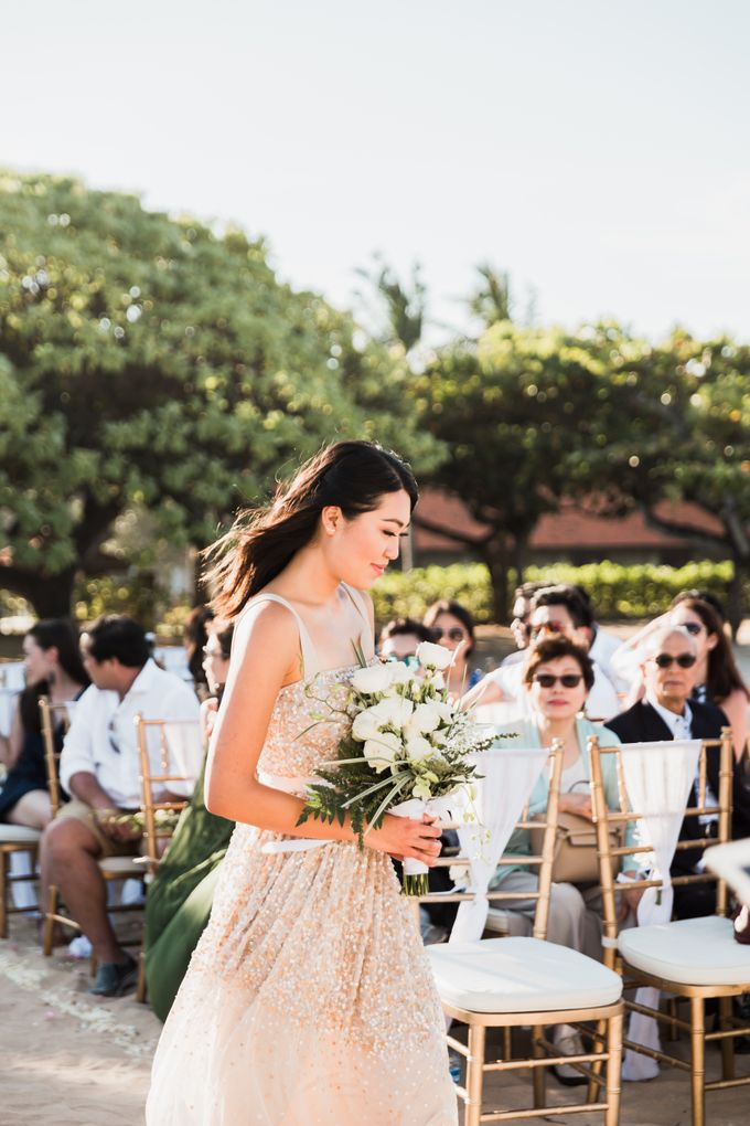 Beautiful Seashore Wedding of Loretta & Felix by Silverdust Decoration - 004