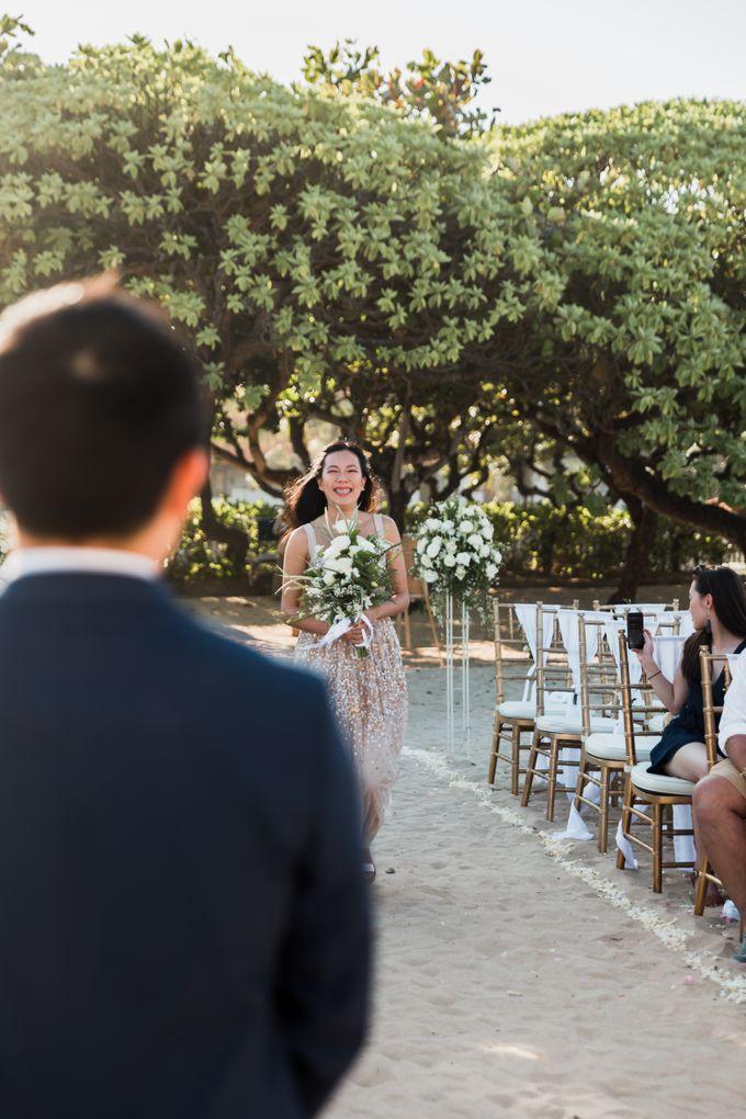 Beautiful Seashore Wedding of Loretta & Felix by Silverdust Decoration - 003