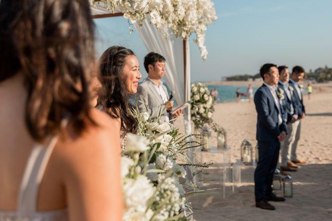 Beautiful Seashore Wedding of Loretta & Felix by Silverdust Decoration - 005