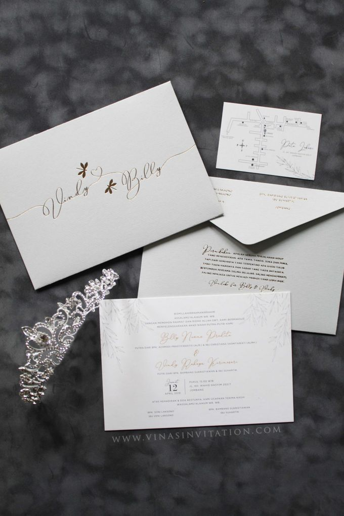 Vindy & Billy by Vinas Invitation - 001