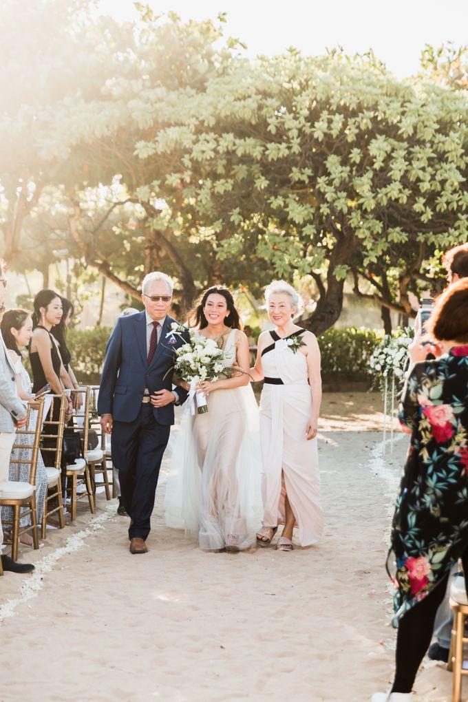 Beautiful Seashore Wedding of Loretta & Felix by Silverdust Decoration - 007