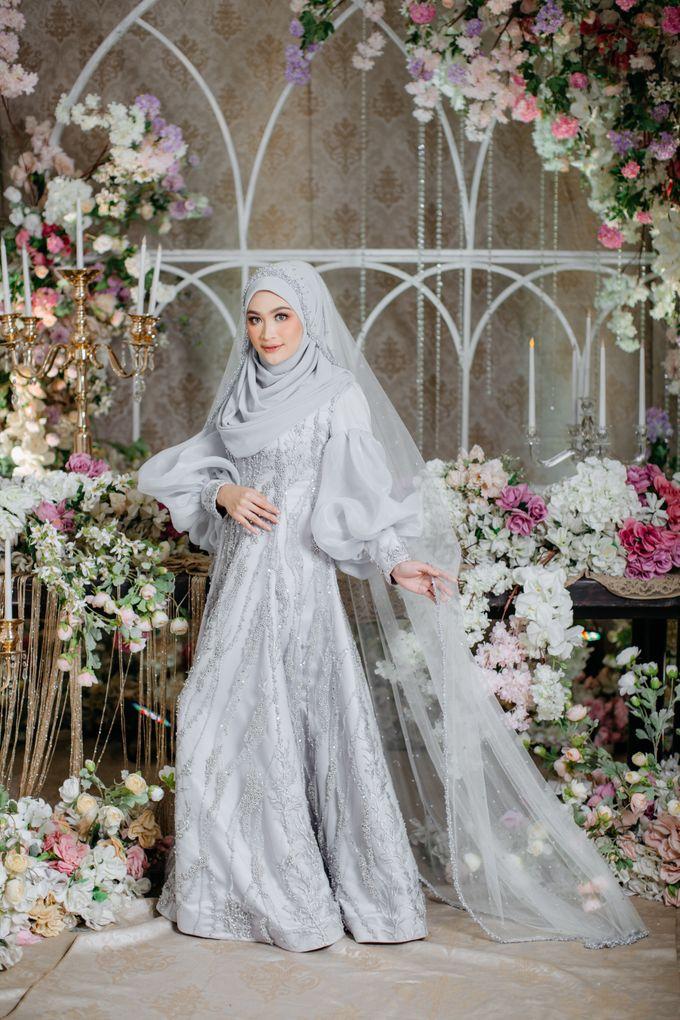 New Collection   Ice Gray Series by LAKSMI - Kebaya Muslimah & Islamic Bride - 002