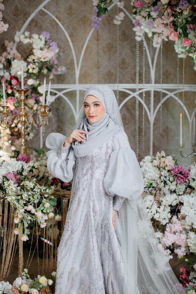 New Collection   Ice Gray Series by LAKSMI - Kebaya Muslimah & Islamic Bride - 003