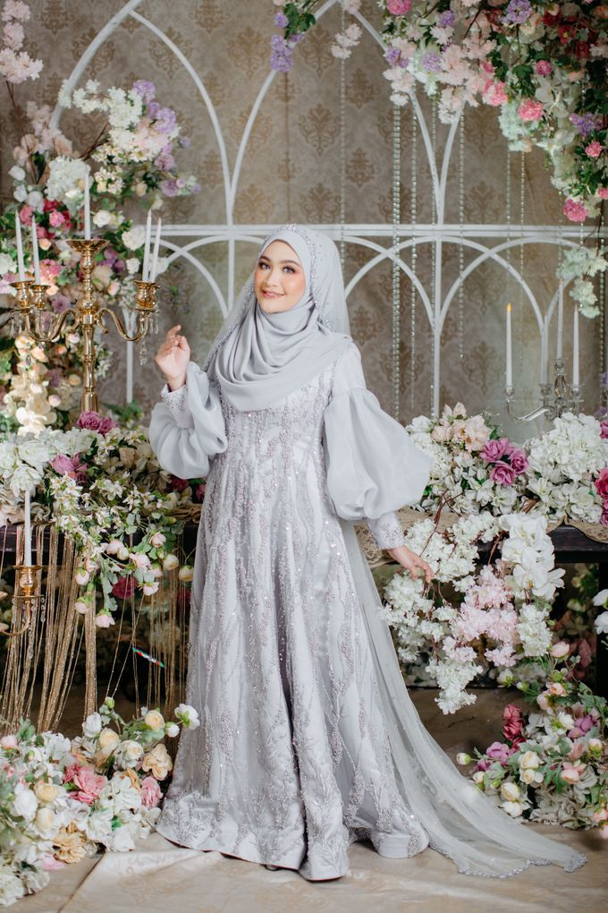 New Collection   Ice Gray Series by LAKSMI - Kebaya Muslimah & Islamic Bride - 004