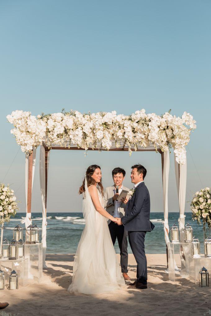 Beautiful Seashore Wedding of Loretta & Felix by Silverdust Decoration - 014