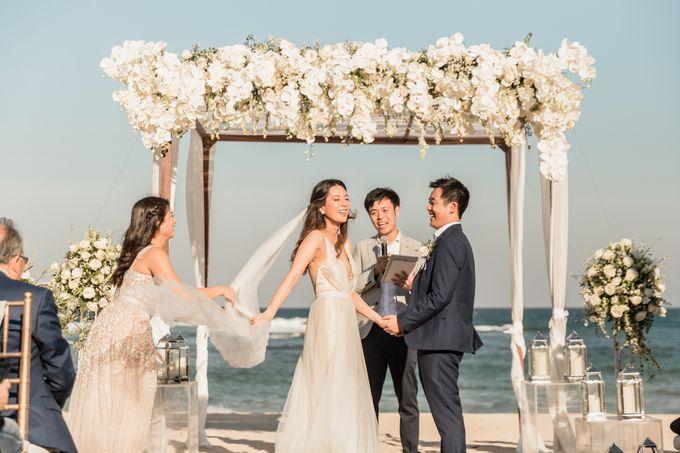 Beautiful Seashore Wedding of Loretta & Felix by Silverdust Decoration - 016