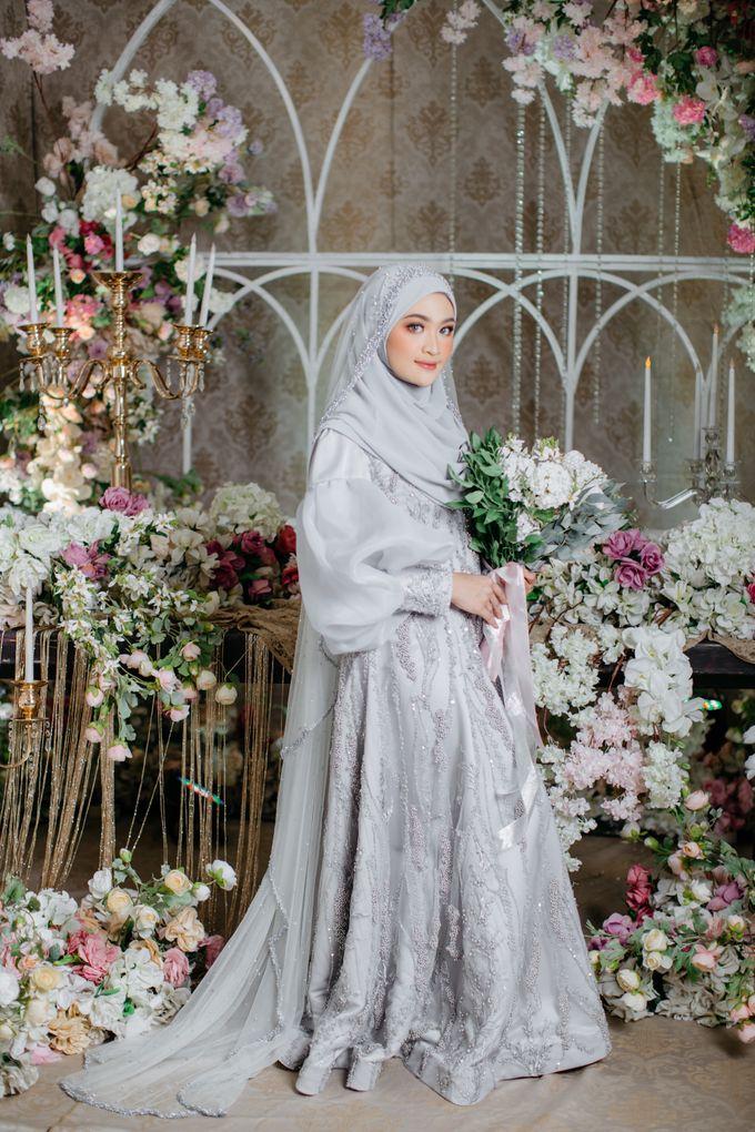 New Collection   Ice Gray Series by LAKSMI - Kebaya Muslimah & Islamic Bride - 005