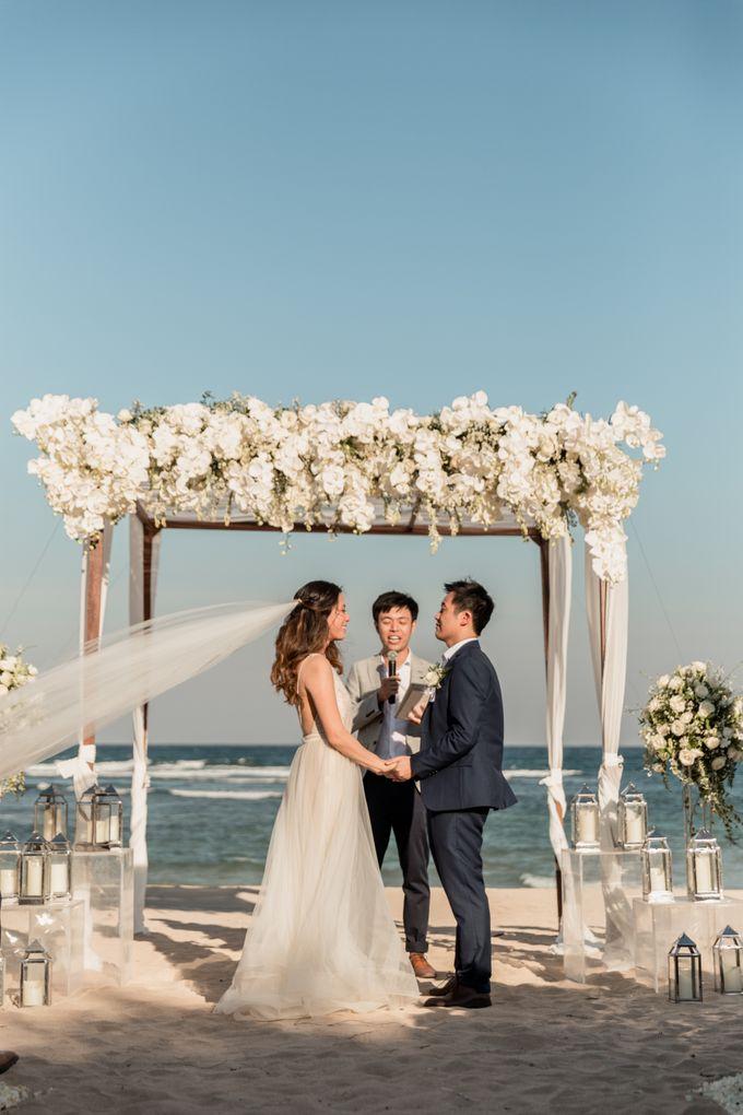Beautiful Seashore Wedding of Loretta & Felix by Silverdust Decoration - 018
