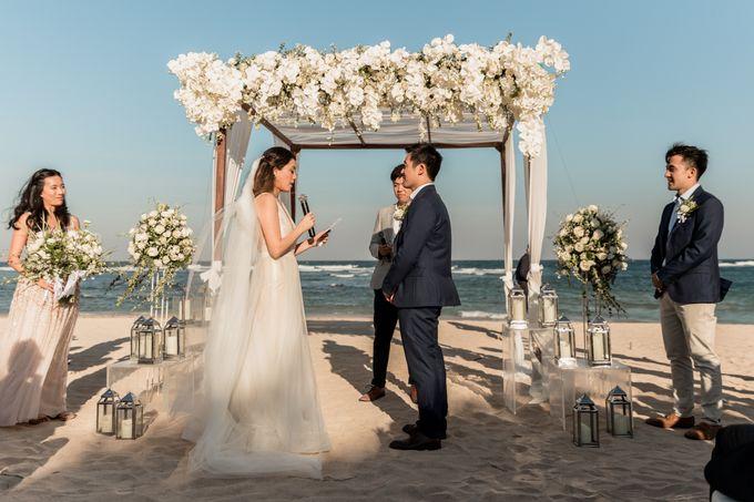 Beautiful Seashore Wedding of Loretta & Felix by Silverdust Decoration - 019