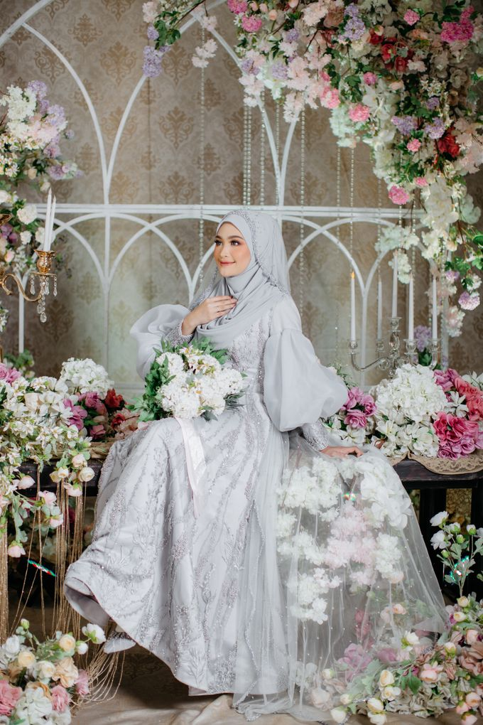New Collection   Ice Gray Series by LAKSMI - Kebaya Muslimah & Islamic Bride - 001