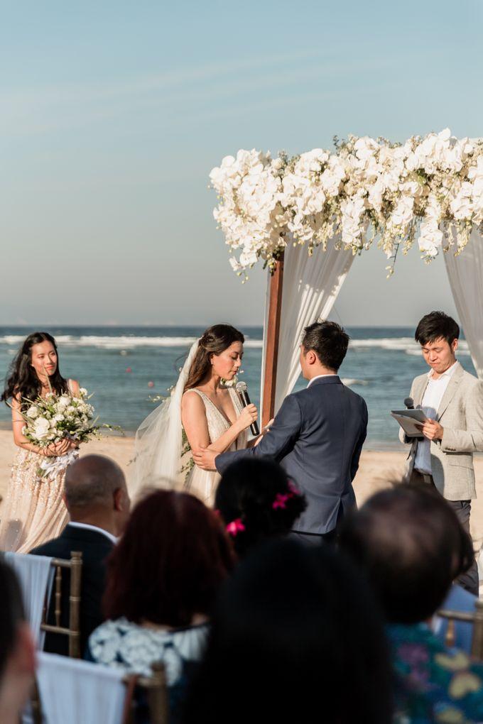 Beautiful Seashore Wedding of Loretta & Felix by Silverdust Decoration - 020