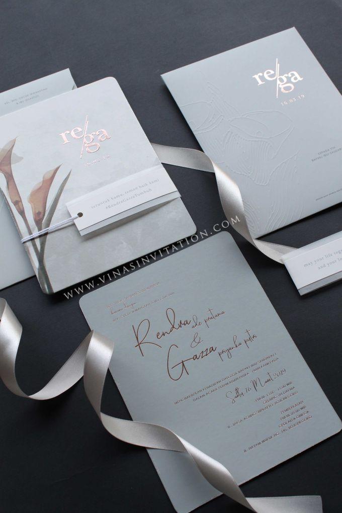Rendra & Gazza by Vinas Invitation - 001