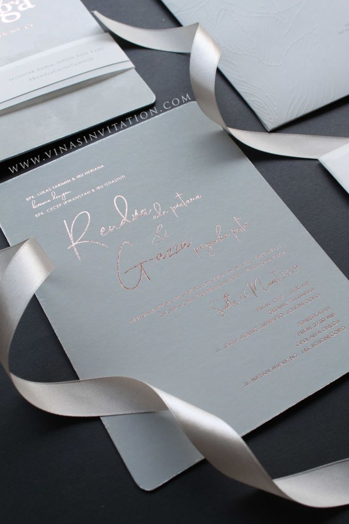 Rendra & Gazza by Vinas Invitation - 003