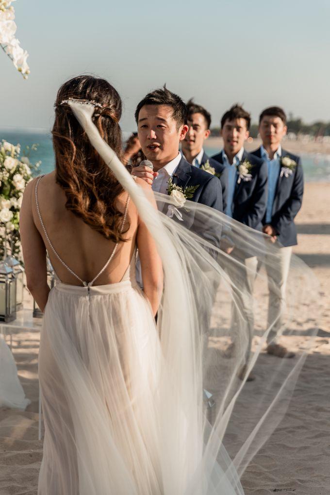 Beautiful Seashore Wedding of Loretta & Felix by Silverdust Decoration - 022