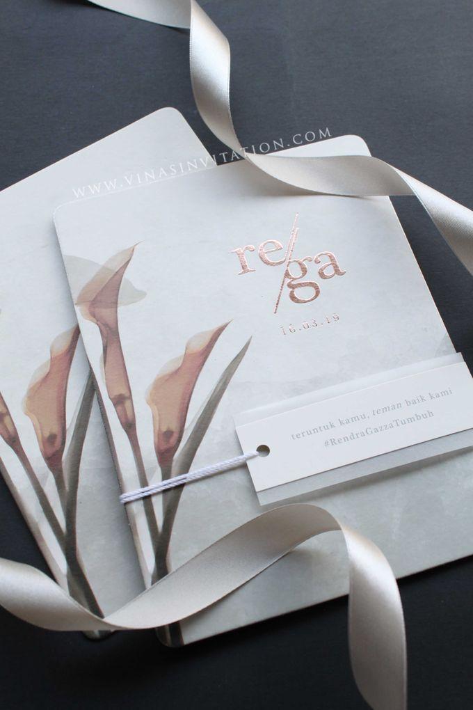Rendra & Gazza by Vinas Invitation - 004