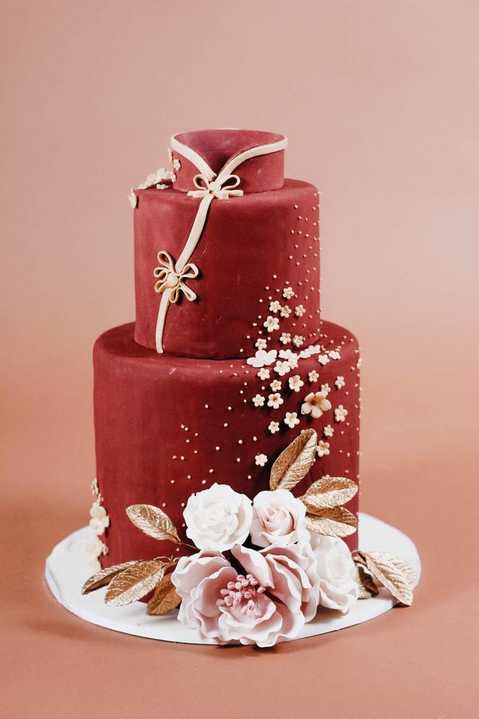 Sangjit and Engagement by Gordon Blue Cake - 009