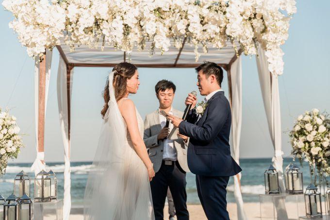 Beautiful Seashore Wedding of Loretta & Felix by Silverdust Decoration - 023