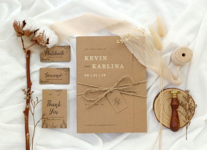 Kevin + Karlina by Caramel Card - 001