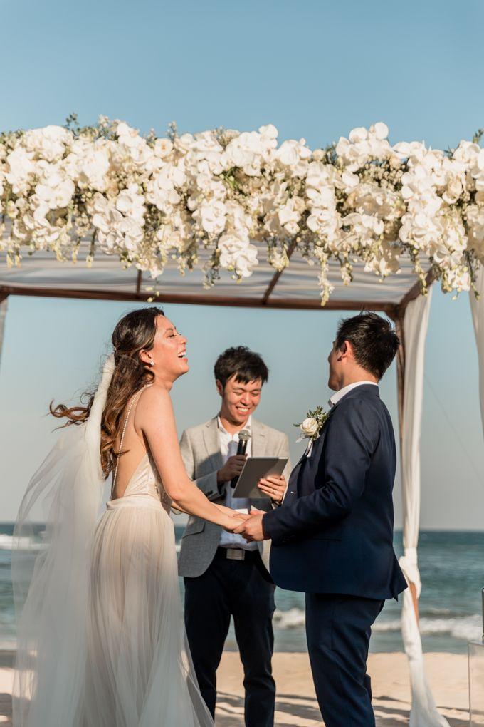 Beautiful Seashore Wedding of Loretta & Felix by Silverdust Decoration - 026