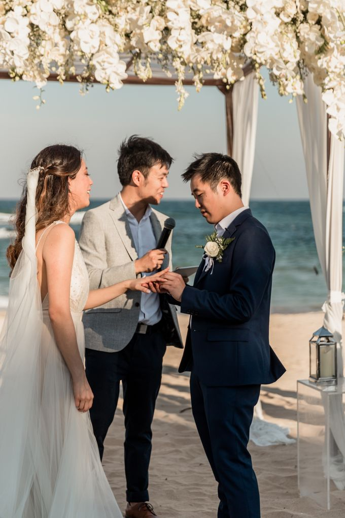 Beautiful Seashore Wedding of Loretta & Felix by Silverdust Decoration - 027